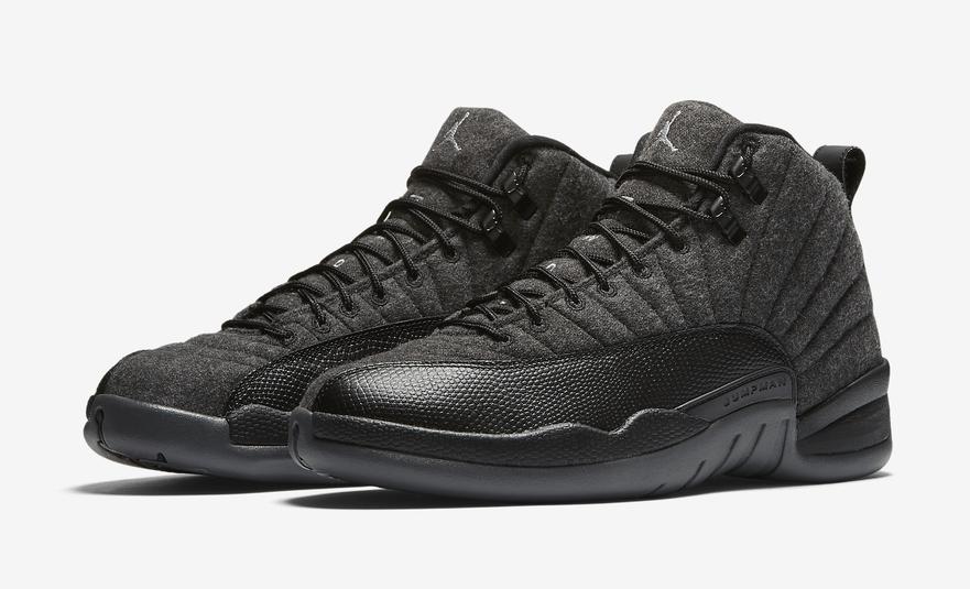 Nice Air Jordan 12 Wool 2016 Release