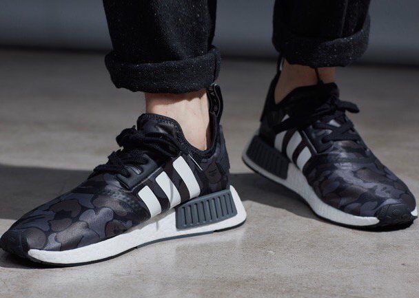 adidas NMD R1 Bape On Foot