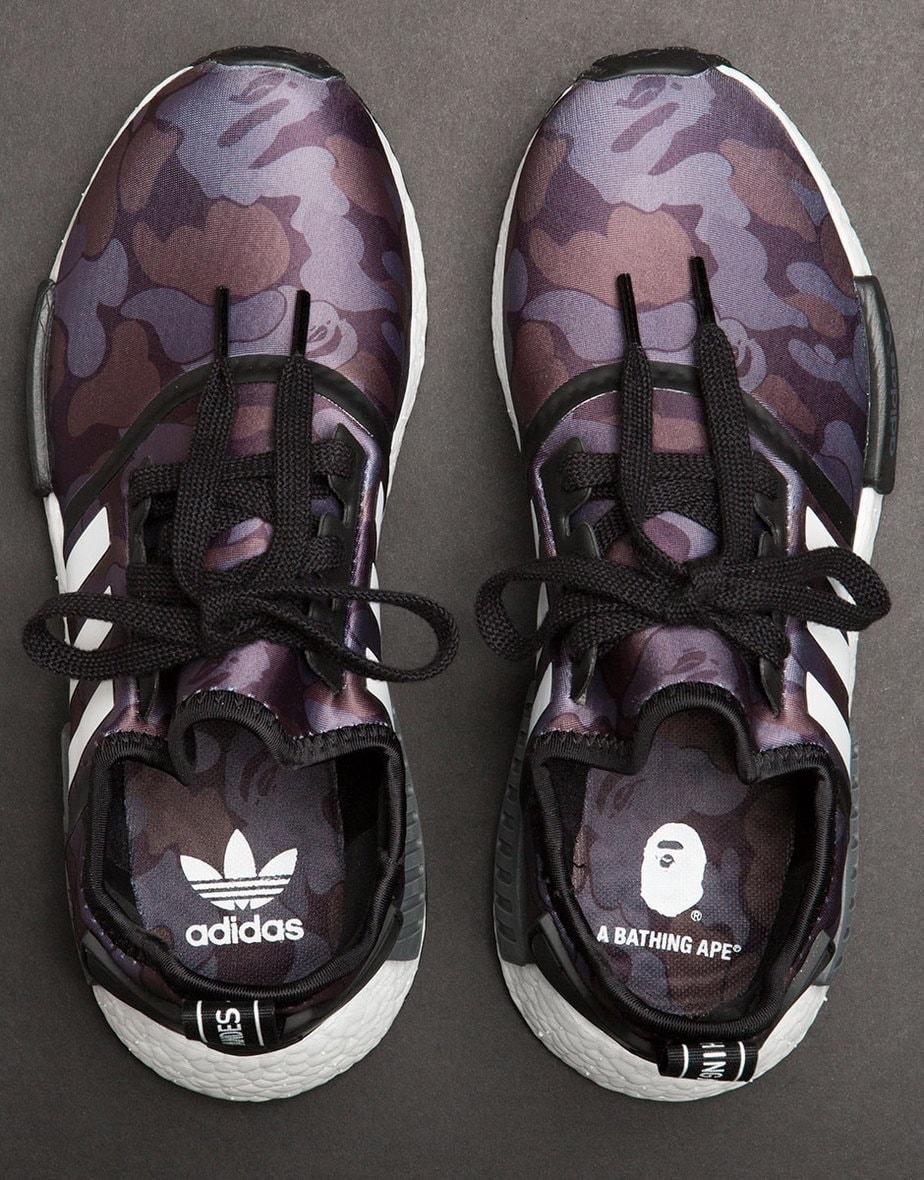 BAPE Adidas NMD R1 Camo
