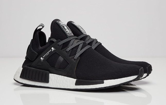 high quality Mens Adidas NMD XR1 Triple Black BA7214