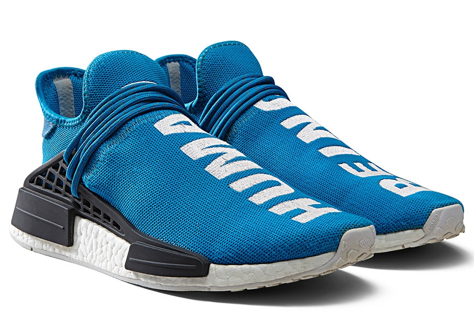 How Much Is The Pharrell x Adidas HU NMD Line There's A Price