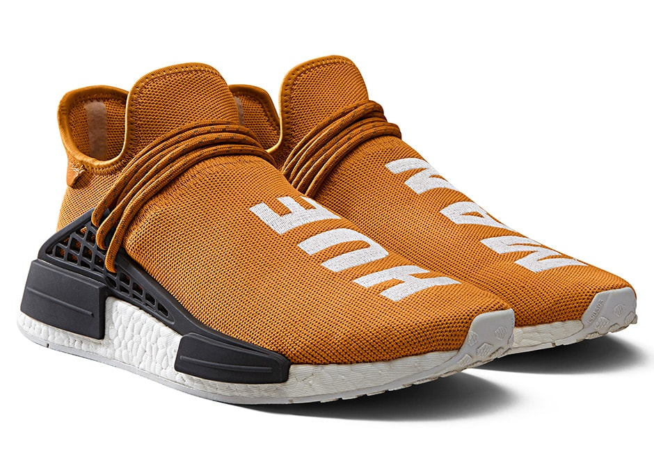 Pharrell x adidas NMD Human Race Dark Yellow