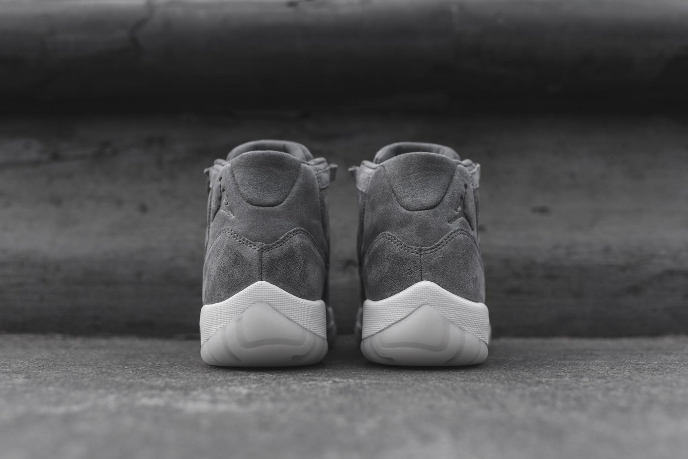 c9c4e82c0673 Air Jordan 11 Pinnacle Grey Suede Now Available - JustFreshKicks