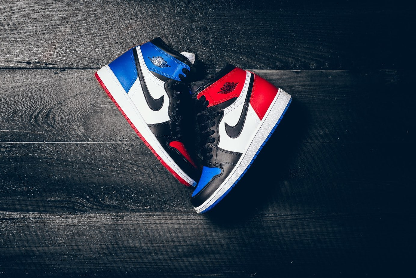 """Air Jordan 1 """"Top Three"""" Banned Royal Chicago Release Date ..."""