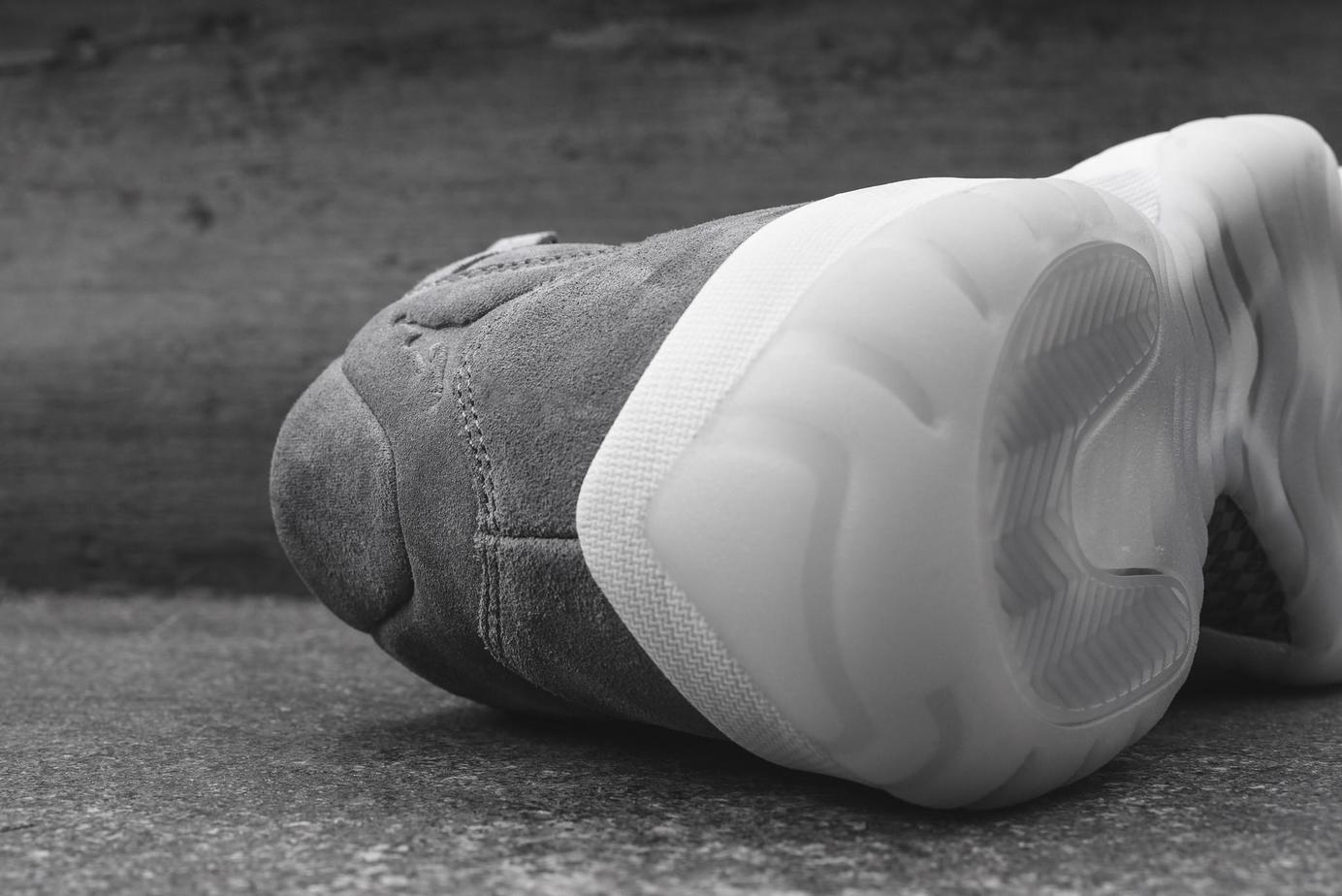 Air Jordan 11 Pinnacle Grey Suede Now Available - JustFreshKicks e6aba3c8a