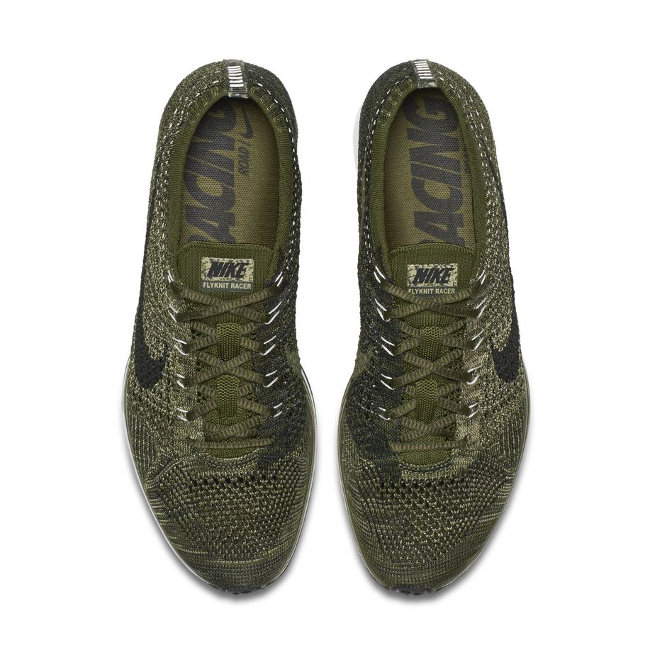 Nike Flyknit Racer Rough Green Olive