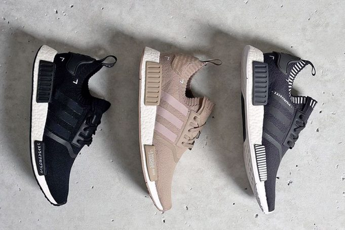 gccqmg Adidas NMD R1 Primeknit Women Trainers in Vapour Pink