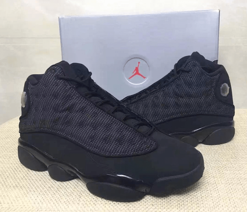 check out f6974 da73b Air Jordan 13 Black Cat 2017