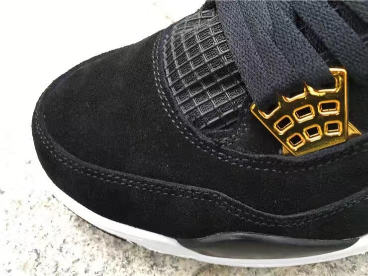 Air Jordan 4 Royalty Black January 2017