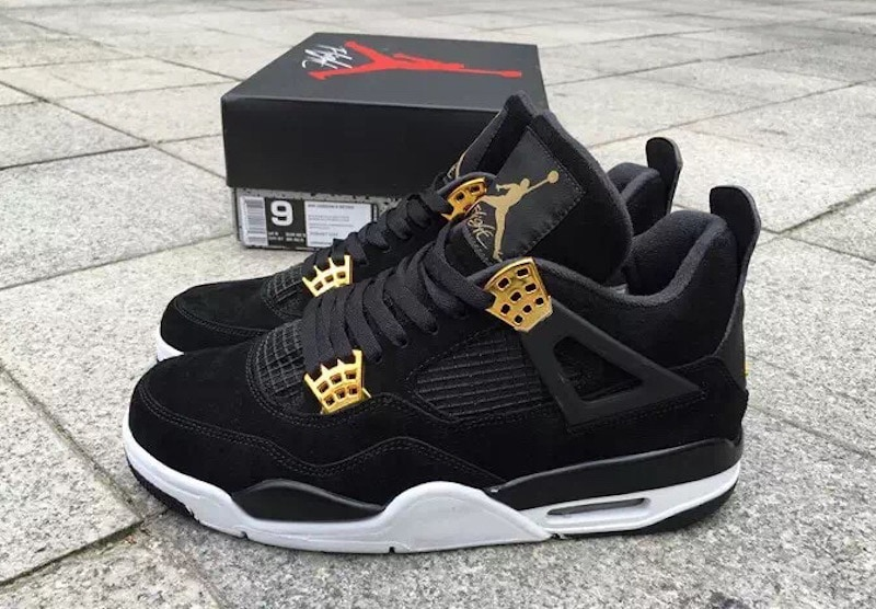 "Air Jordan 4 ""Royalty"" Black January 2017"