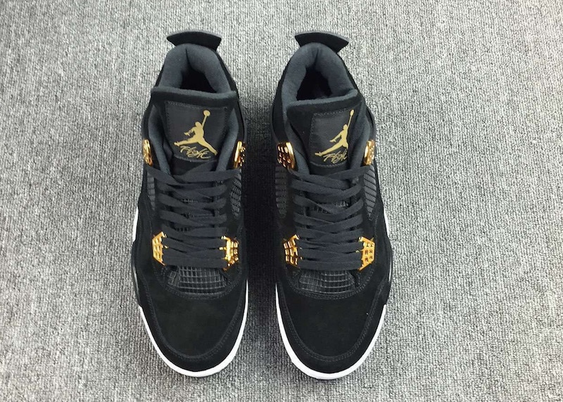 Air Jordan 4 Royalty Black