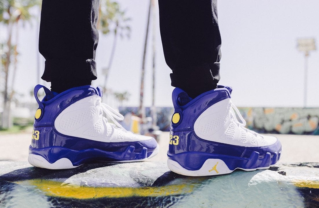 Air Jordan 9 Kobe Bryant On Foot