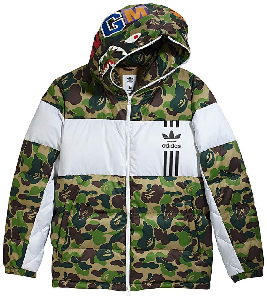 adidas bape jacket prix,a bathing ape x adidas shark bape zip up