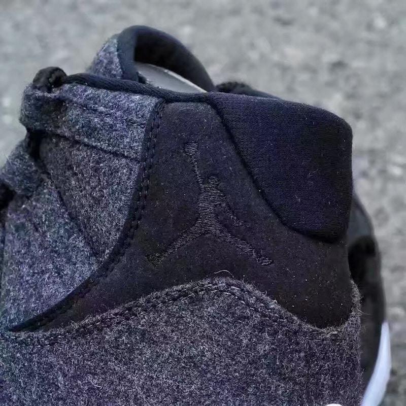 Air Jordan 11 Wool Dark Grey