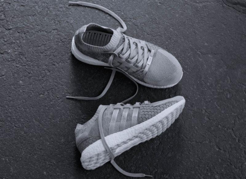 Pusha T x adidas EQT Boost King Push Grey Scale - JustFreshKicks