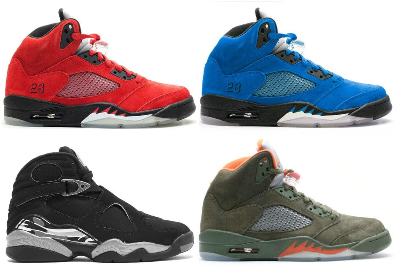new style da124 55dc1 real air jordan 5 retro raging bull 3m negro varsity rojo ...
