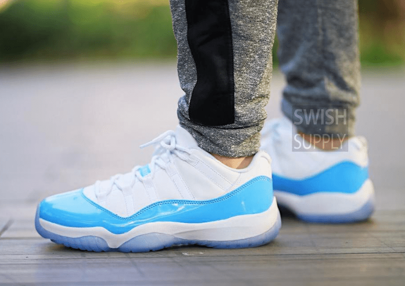 size 40 31ead 2c54d ... official store air jordan 11 low university blue columbia 2017  justfreshkicks da0e2 9167f