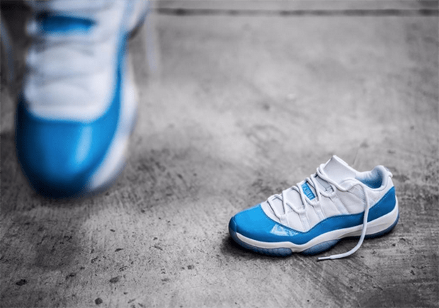 info for dd84f 774fa UPDATE  Another Look at the upcoming Air Jordan 11 Low University Columbia  Blue.