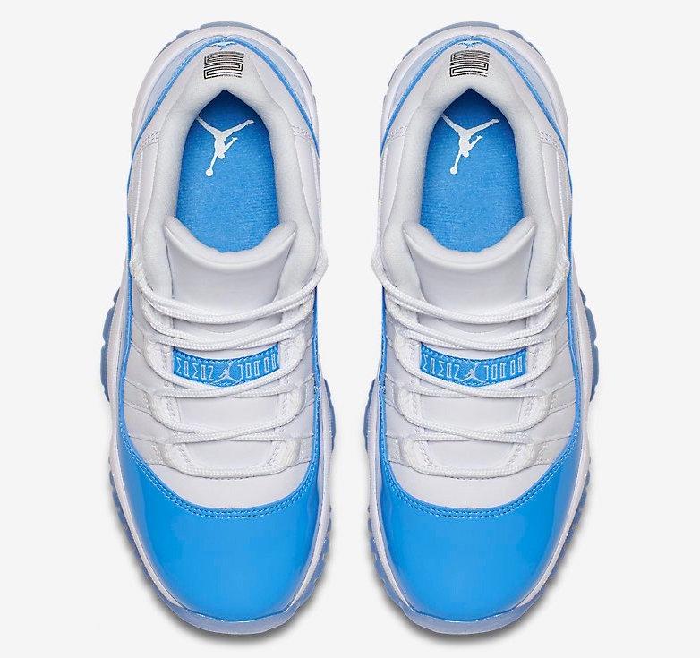 Air Jordan 11 Low University Blue Columbia 2017 ...