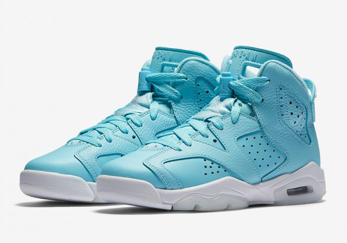 "Official Look at the Air Jordan 6 GS ""Pantone"""