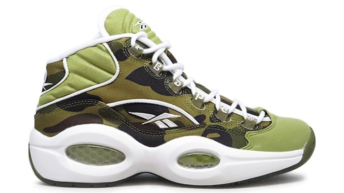 "Release Date Details. BAPE x mita sneakers x Reebok Question ""1st Camo"" ... 0cdde4d5f"