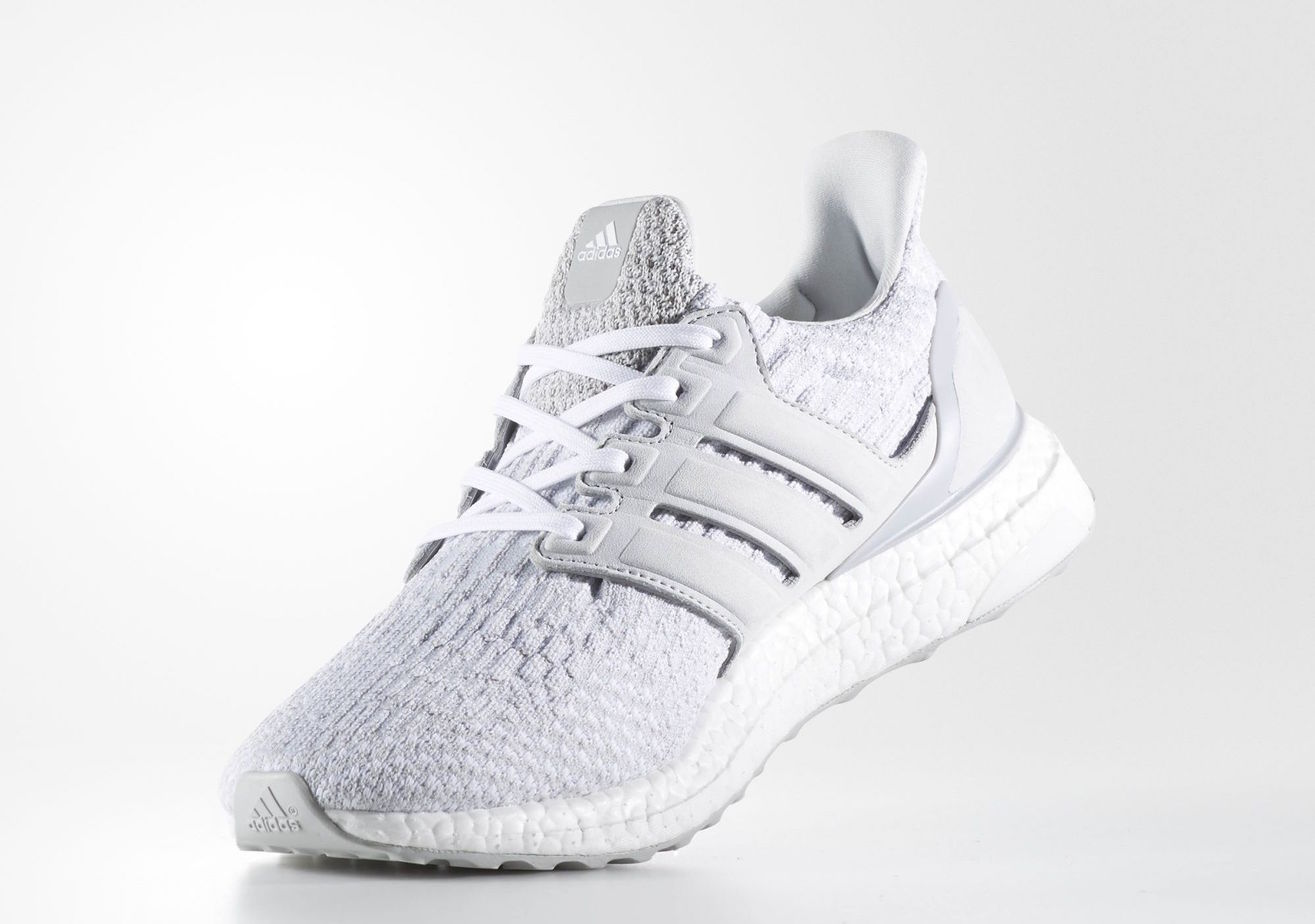 Ultra Boost 3.0 Silver Sneakers ADIDAS Air Jordan Nike Salt Lake