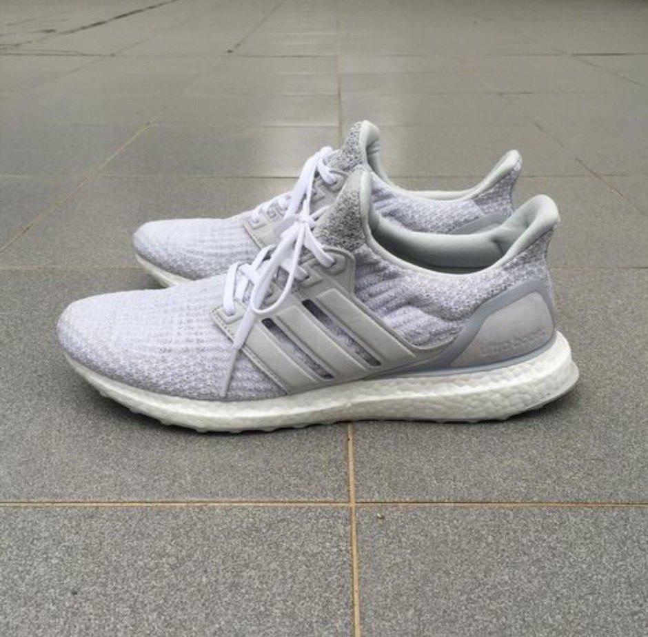 UA Adidas Ultra Boost 3.0 White-gray