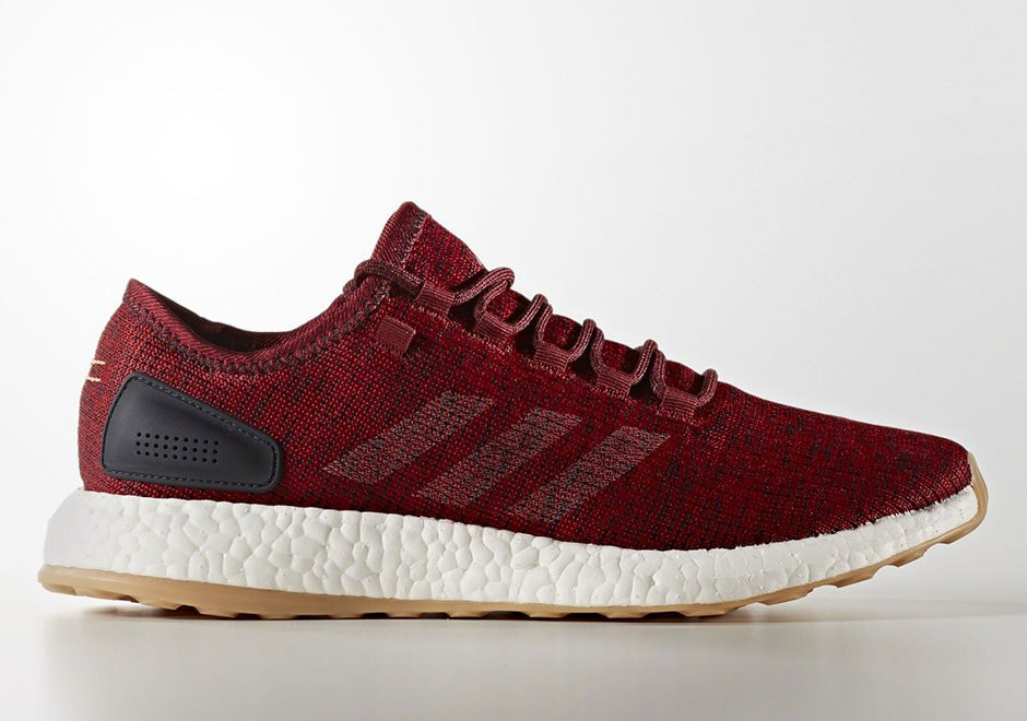 00d826311be Release Date Details. adidas Pure Boost Burgundy Mystery ...