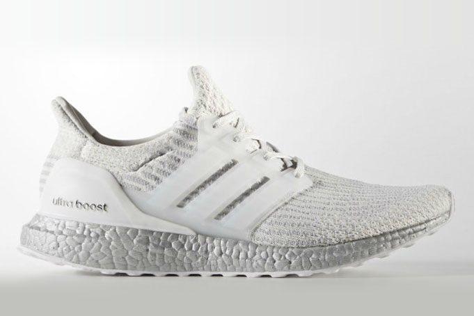 47418cbad adidas Ultra Boost 3.0 White Silver BA8922 - JustFreshKicks