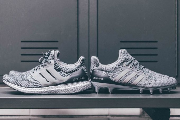 """Adidas Originals has officially unveiled their adidas Ultra Boost """"Silver Pack"""" which will include the new Ultra Boost Cleat and Ultra Boost 3.0 with Silver ..."""