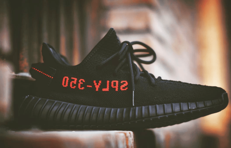 Yeezy Boost 350 V2 Black Red Cp9652 Justfreshkicks