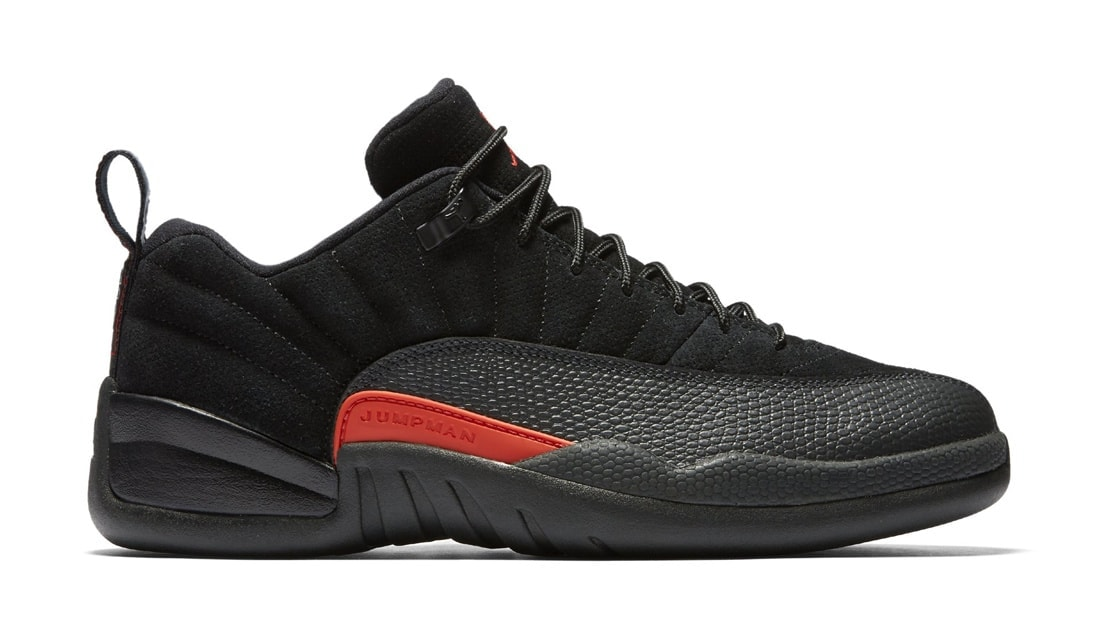 3cc5bdd0c171d4 Release Date Details. Air Jordan 12 Low Black Max Orange-Anthracite ...
