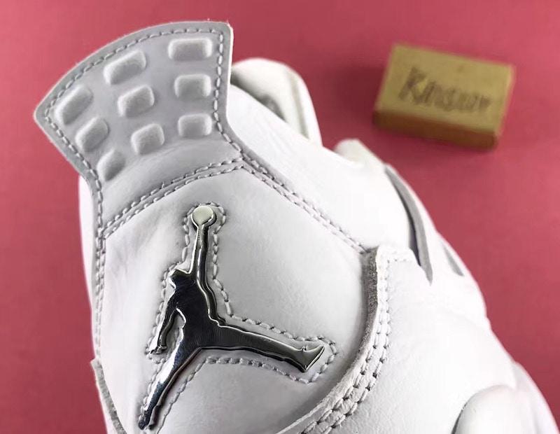 "pretty nice 2f268 2dcff Air Jordan 4 Retro ""Pure Money"" White Metallic Silver-Pure Platinum  308497-100. May 13, 2017  190"