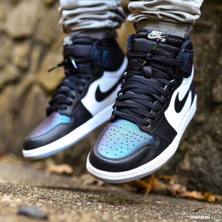 """794ca16e984 On Foot Look at the Upcoming Air Jordan 1 """"All-Star"""" Chameleon"""
