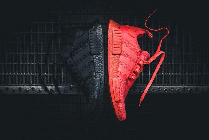 Adidas nmd r1 colorato impulso rifornire il prossimo fine settimana justfreshkicks