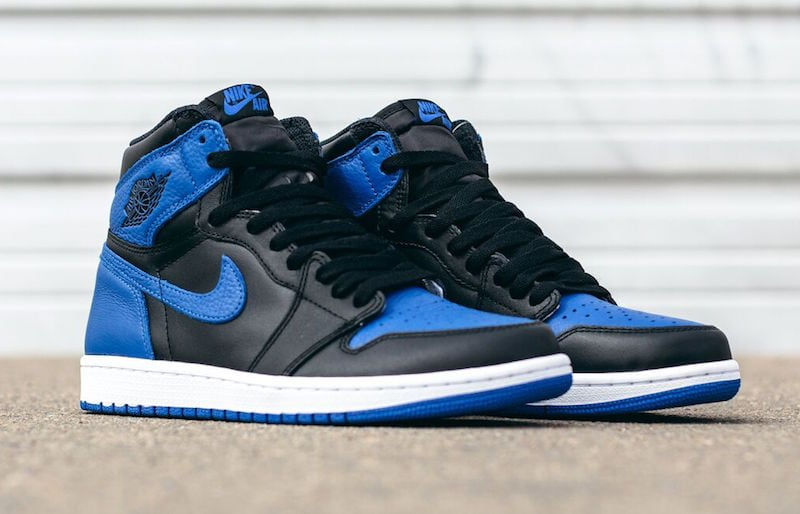 "63bed801c5d9 Detailed Look at the Air Jordan 1 Retro High OG ""Royal"" 2017"
