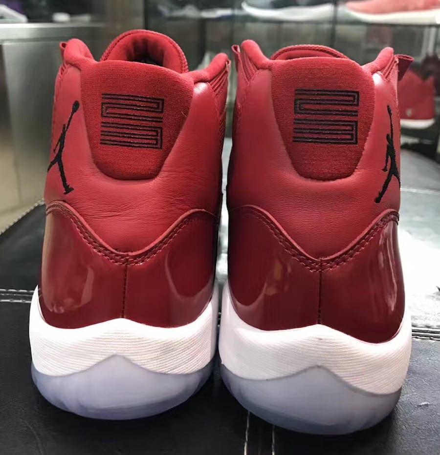 a33f5c62eb8d26 ... Red Holiday 2017 Air Jordan 11 Melo 2017 Source  soleheatonfeet
