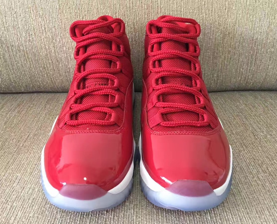 e2aa882ba239ef Air Jordan 11 Gym Red Color  Gym Red Black-White Style Code  378037-623.  Release Date  December 9