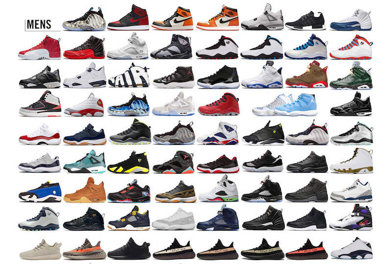 List Of All Nike Shoes