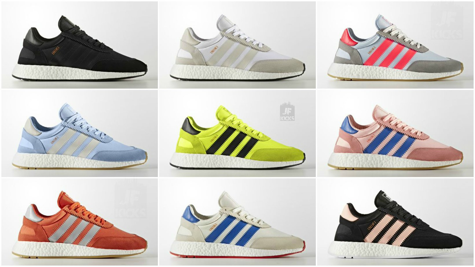 detailed look 82512 c3d9d adidas Iniki Runner Collection Pages Scroll down for direct links