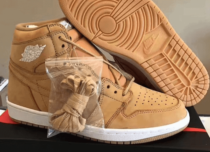 "4b271453ed17 Following the release of the ""Wheat"" inspired Air Jordan 4 Pinnacle Ginger  last year"