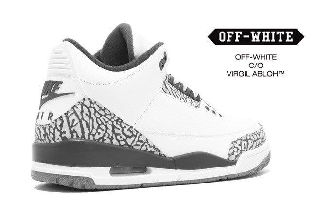 sports shoes ccf51 9f950 OFF-WHITE x Air Jordan 3 OG 2017 Release Date - JustFreshKic