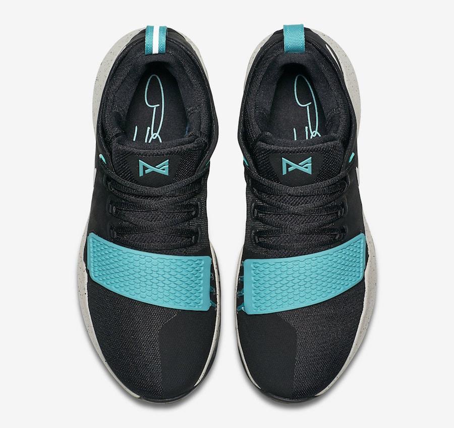 3130d35e8c3f Nike PG 1. Black Light Bone-Light Aqua 878628-002. July 29