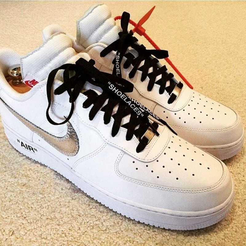 First Look At The Off White X Nike Air Force 1