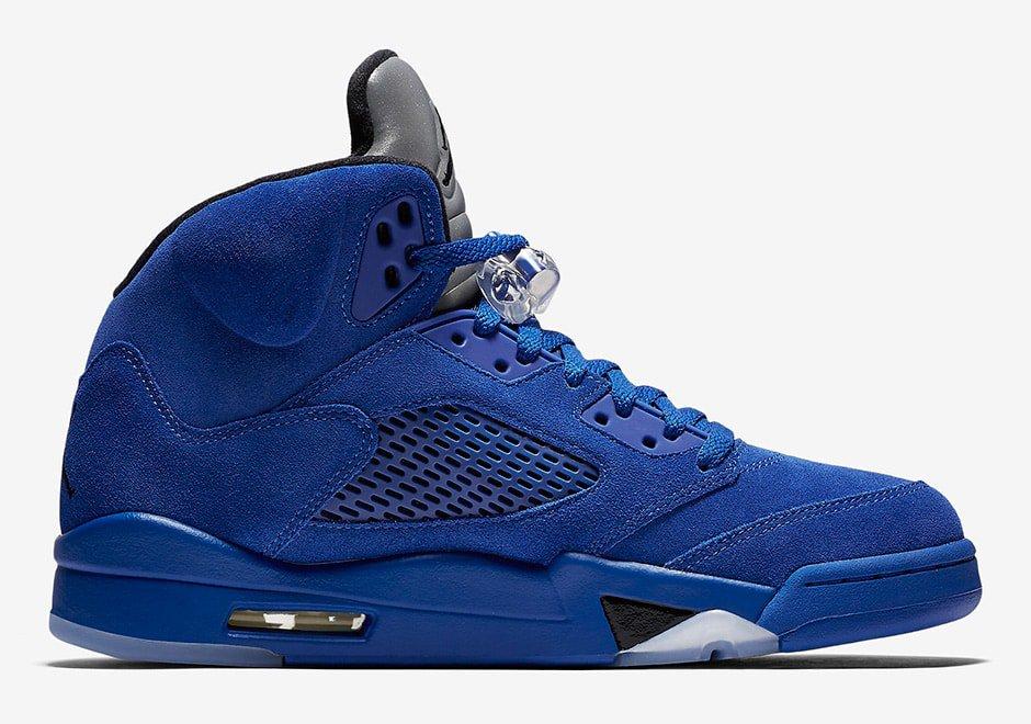 """d1959dba1b04 Air Jordan 5 """"Blue Suede"""" Release Date - JustFreshKicks"""
