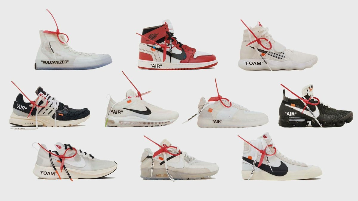 In perhaps the biggest collaboration of the year, Nike has teamed up with  Virgil Abloh to release the OFF-WHITE x Nike 'The Ten' Collection.