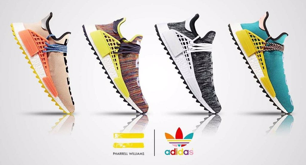 bafc7a26668 Pharrell is teaming up with adidas once again to release his new Hiking  collection