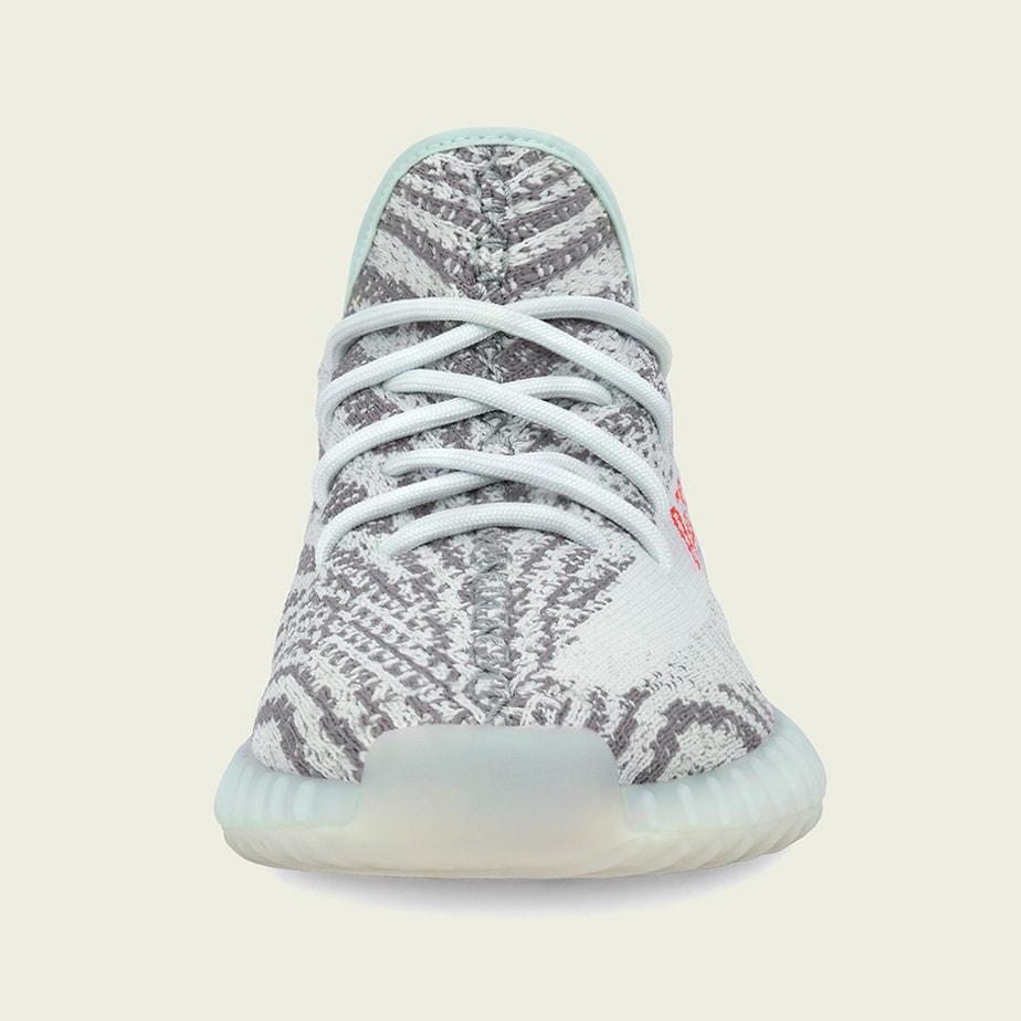 Adidas Yeezy Boost 350 V2 Teinte Bleue Uk BauOr7b