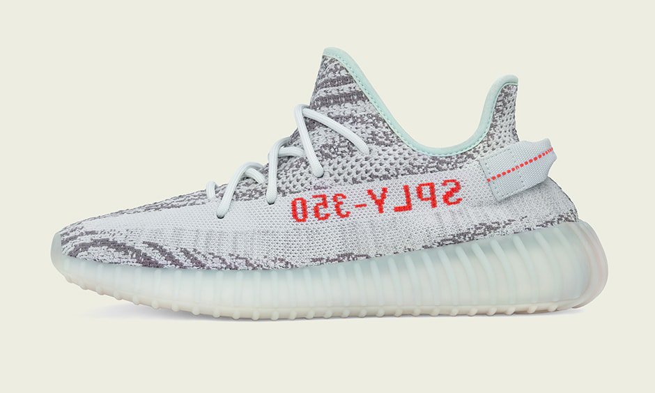 After dropping two Yeezy 350 V2 colorways back-to-back last month, Yeezy  Season is back to close the year out strong. The adidas Yeezy 350 Boost V2  Blue ...
