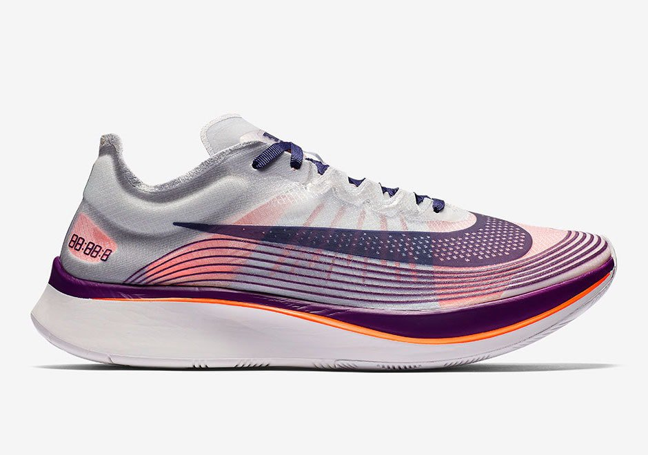 official photos a8962 9ed1c Release Date Details. Nike Zoom Fly SP Color Neutral IndigoNeutral ...
